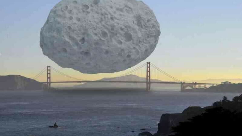 The Dionysus Asteroid Got Curves Like The Golden Gate Bridge Images