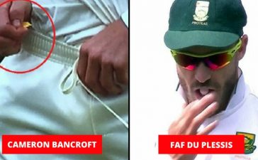 Ball tampering incidents