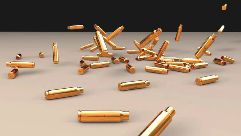 Bullet Shells Dropping On the Floor Weird Things