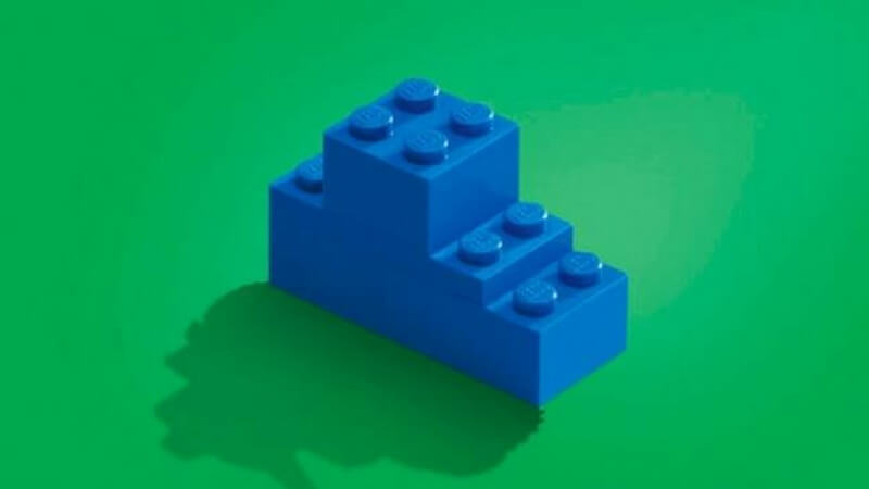Lego Blocks advertisement