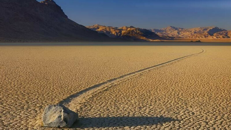 Racetrack Playa, Death Valley Mystery