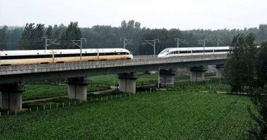 China's Bullet Trains Deliver Crossover At 420 Km Per Hour