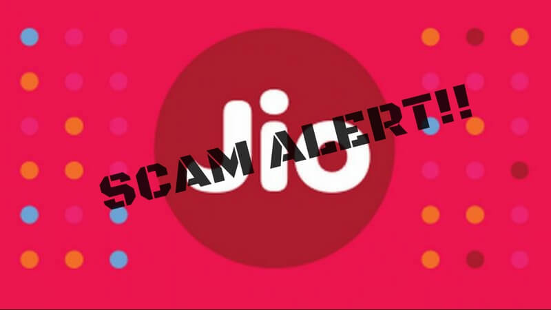 Jio Scam Fake Sms