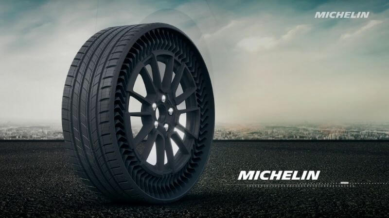 Airless Michelin Tyre Wheels