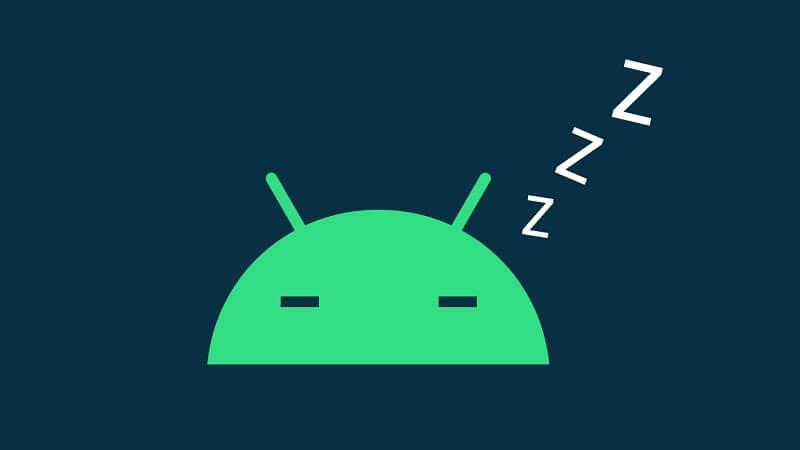 App Hibernate Android 12