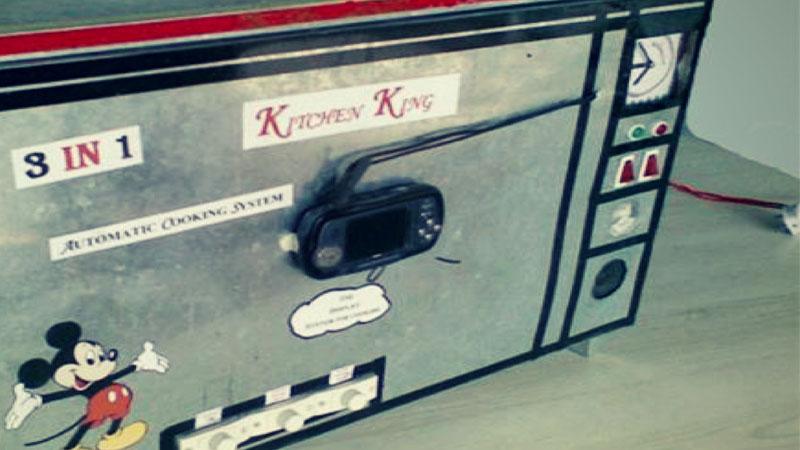 Automatic Food Making Machine, Abhishekh Bhagat
