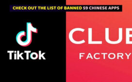 BANNED 59 CHINESE APPS