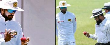 Dinesh Chandimal Ball Tampering