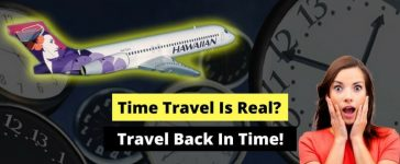 Hawaiian Airlines Flight Time Traveled by flying back to a city across timezone