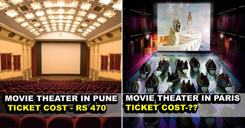 Comparison Of Movie Ticket Prices In India From Other Countries Will Surprise You