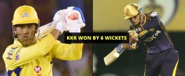 CSK VS KKR Cover