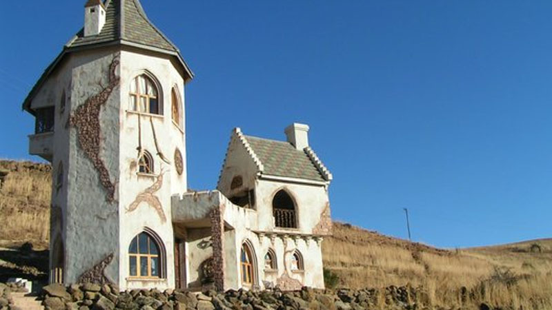 Castle in Clarens, South Africa