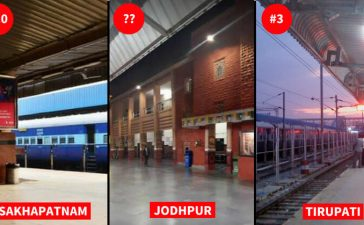 Cleanest Indian Railway Stations