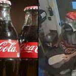 This Man Dressed As Coca Cola Bottle And The Reason Shocks You
