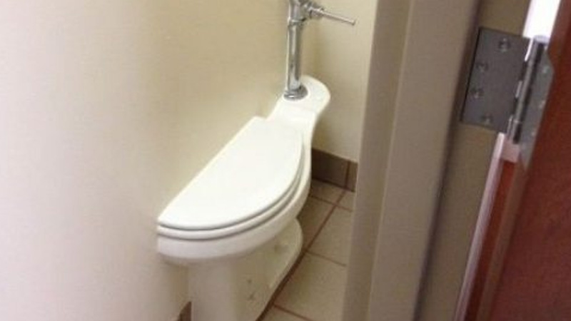 Cost cutting toilet