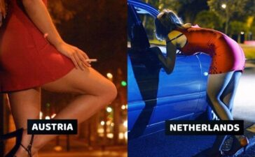 Prostitution Legal Countries