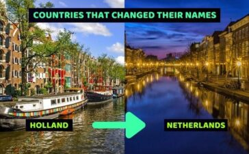 Countries That Changed Their Names