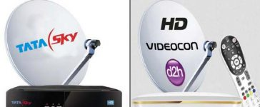 DTH Service Providers India