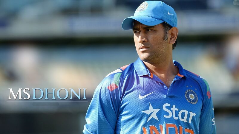 India Squad MS Dhoni
