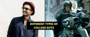 Different Types Of College Guys