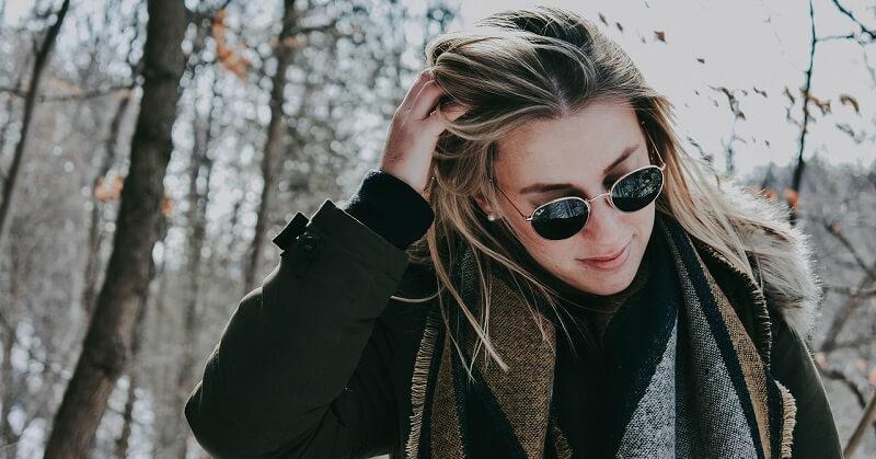 Diva With Sunglasses