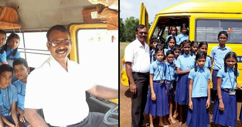 Karnataka Teacher Drives A Bus