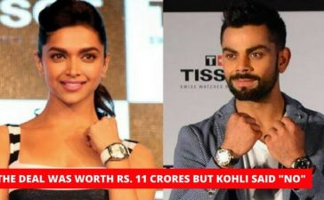 Virat Kohli refuses to shoot with Deepika Padukone
