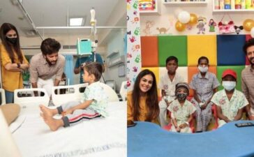 Genelia Riteish International Childhood Cancer Day