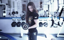 Working Out Girl Gym