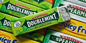strange laws Chewing gum