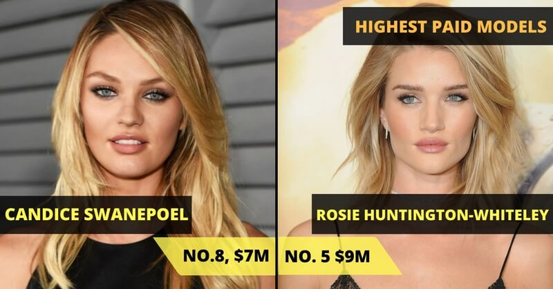 HIGHEST PAID MODELS