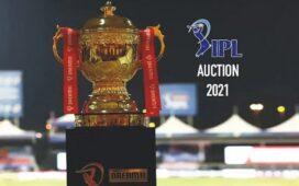 IPL Auction 2021 Trophy