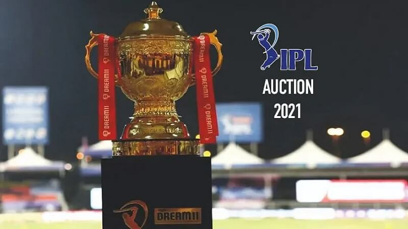 IPL Auction 2021 Trophy