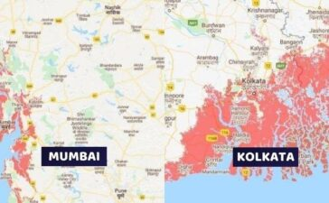 Indian Cities May Drown In Sea By 2050
