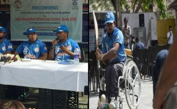 Indian Wheelchair Cricket Team