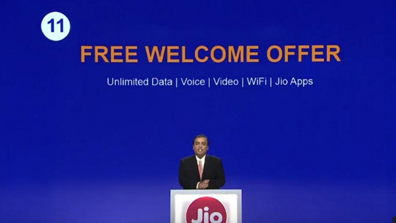 Jio Growth In 20 Months