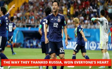 Japanese Players Cleaned The Dressing Room