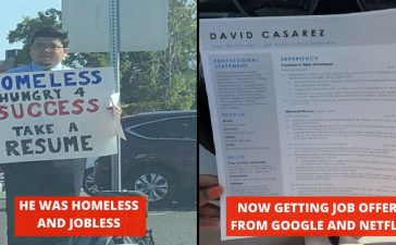 Jobless Man Getting Offers From Google