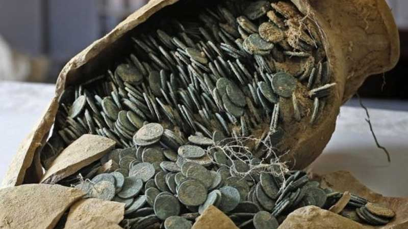 Large Hoard In Spain