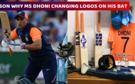 MS Dhoni Bat