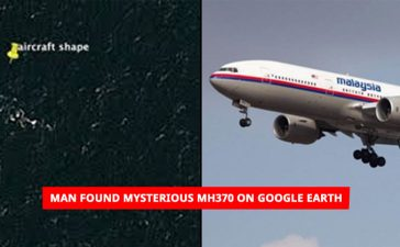 Man found Mysterious MH370 on google earth
