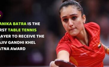 Manika Batra First Table Tennis Player