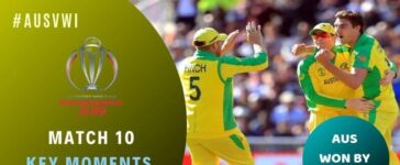 Match 10: Australia vs West Indies