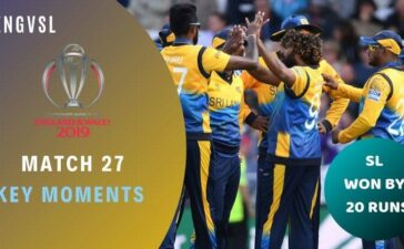 Match 27 England vs Sri Lanka