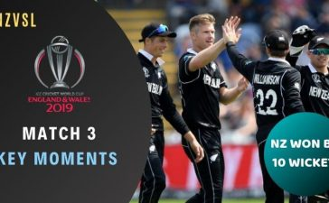Match 3 Sri Lanka vs New Zealand