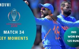 Match 34 India vs West Indies