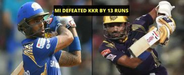 Match 37 MI VS KKR Cover