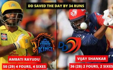 Match 52 DD VS CSK