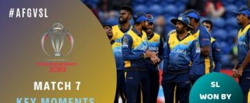 Match 7 Afghanistan vs Sri Lanka