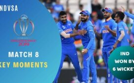 Match 8 India vs South Africa